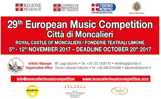 Moncalieri, European Music Competition
