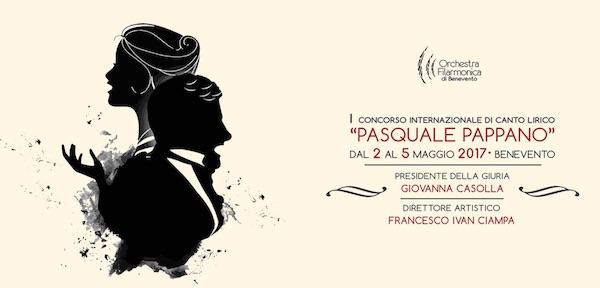 I CONCORSO INTERNAZIONALE DI CANTO LIRICO 'PASQUALE PAPPANO'