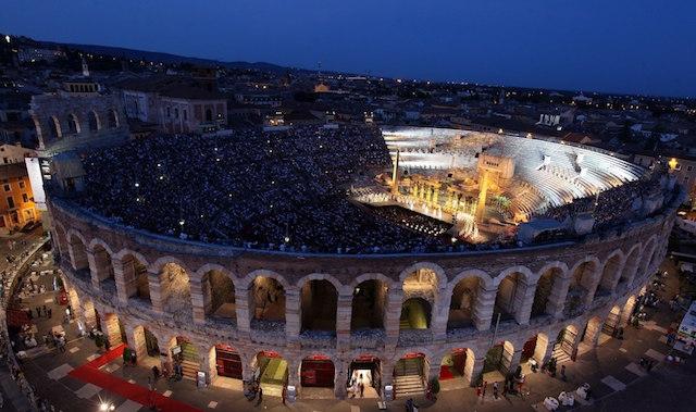 ITALIA - Verona, Fondazione Arena