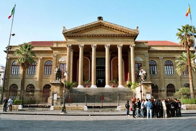 ITALIA - Palermo, Fondazione Teatro Massimo
