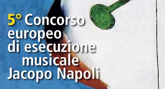 5° Concorso europeo di esecuzione Jacopo Napoli
