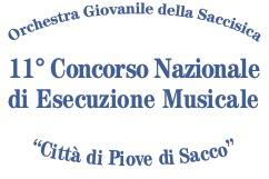 """11° Concorso Nazionale di Esecuzione Musicale """"Città di Piove di Sacco"""""""