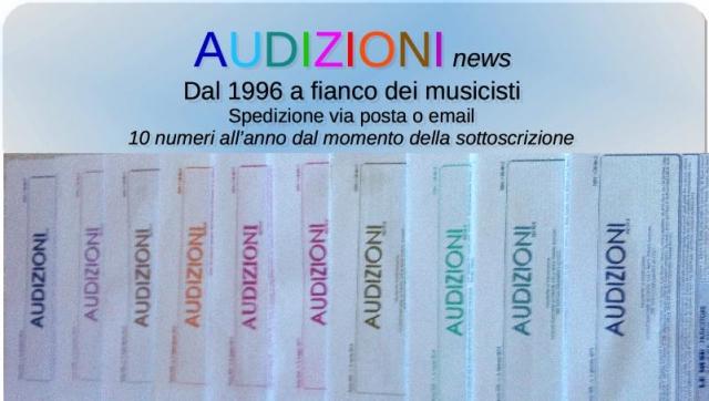 Audizioni news