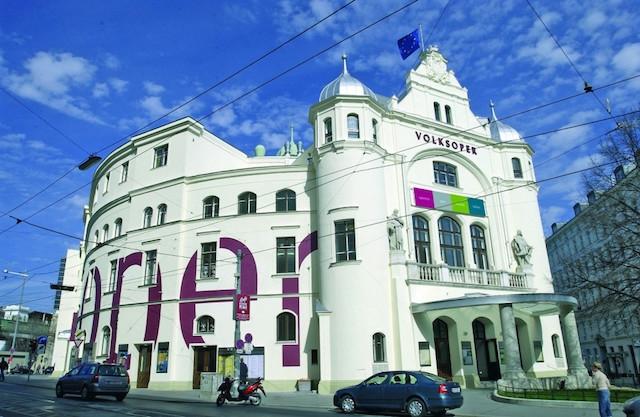 AUSTRIA - Wien, Volksoper Wien
